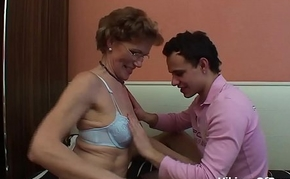 Mother and Stepson Bonding Fucking Moment
