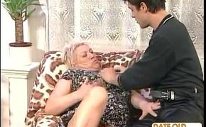 Granny Fucks A Younger Man