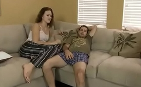 Horny Daughter seduces father be advisable for multiple fucks
