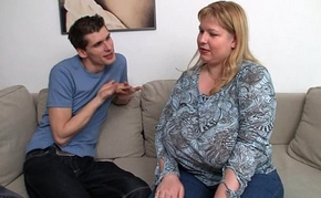 That guy picks up BBW and bangs her