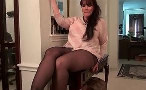 American moms in pantyhose part 3