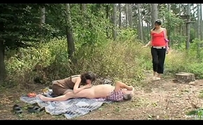 Alfresco Adult Clip Roughly Roasting Legal age teenager