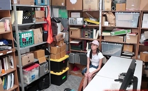 Stupid Shoplifting Girl Hidden-Cam Lovemaking
