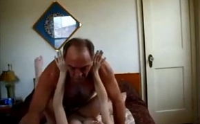 Old guy creampies sexy college pamper on homemade